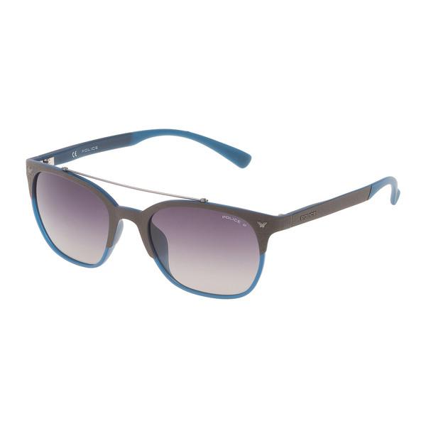 Gafas de sol metal inyectado mujer - azul
