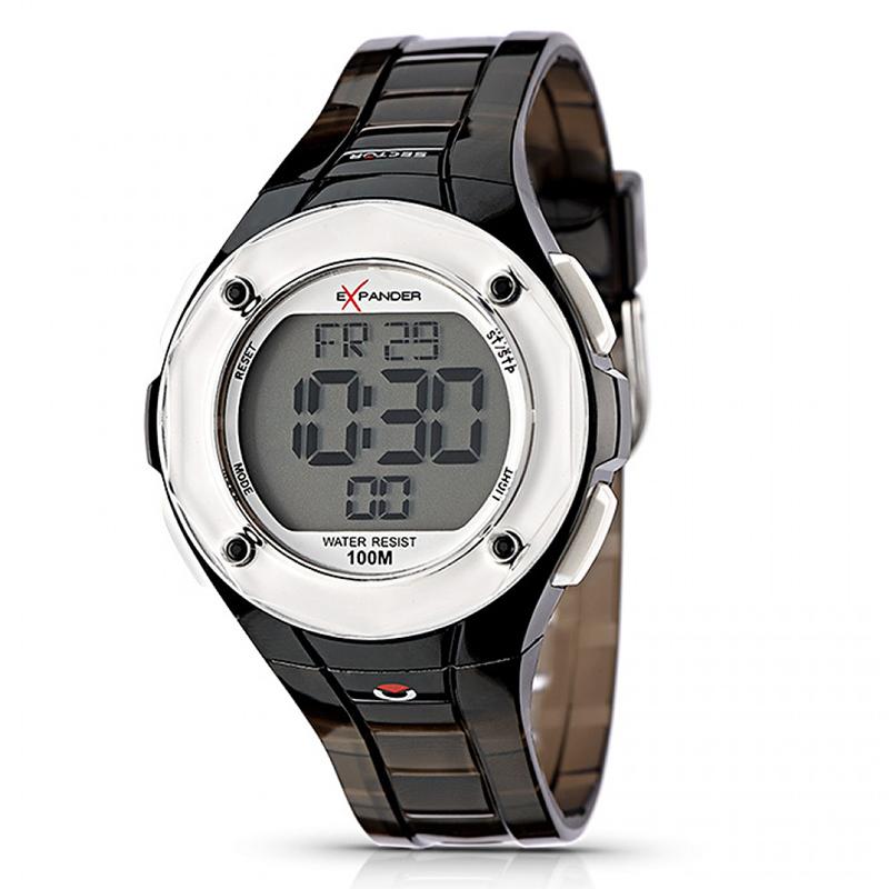 Reloj digital mujer - negro