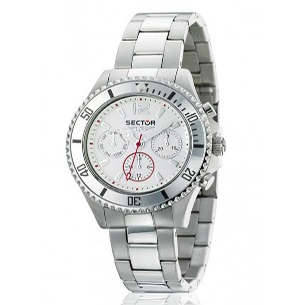 Reloj analógico metal mujer - acero