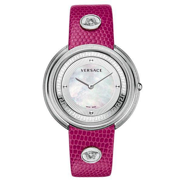 Reloj analógico piel mujer - morado
