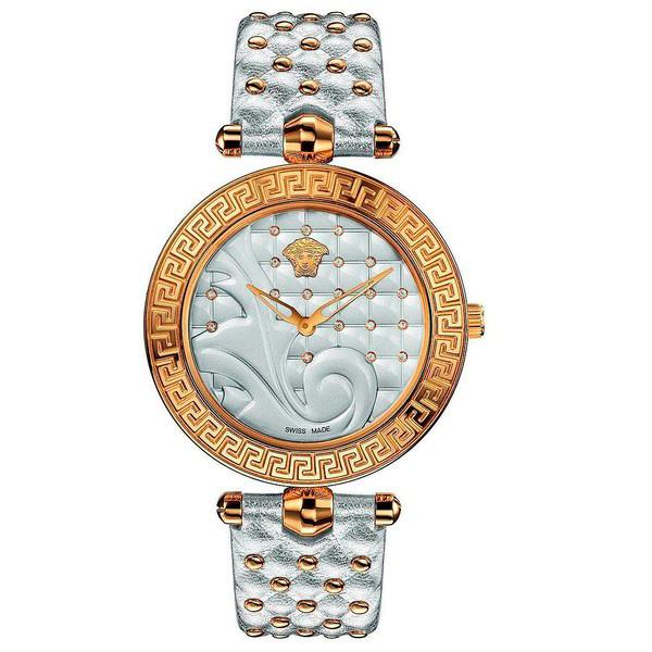 Reloj analógico piel mujer - blanca