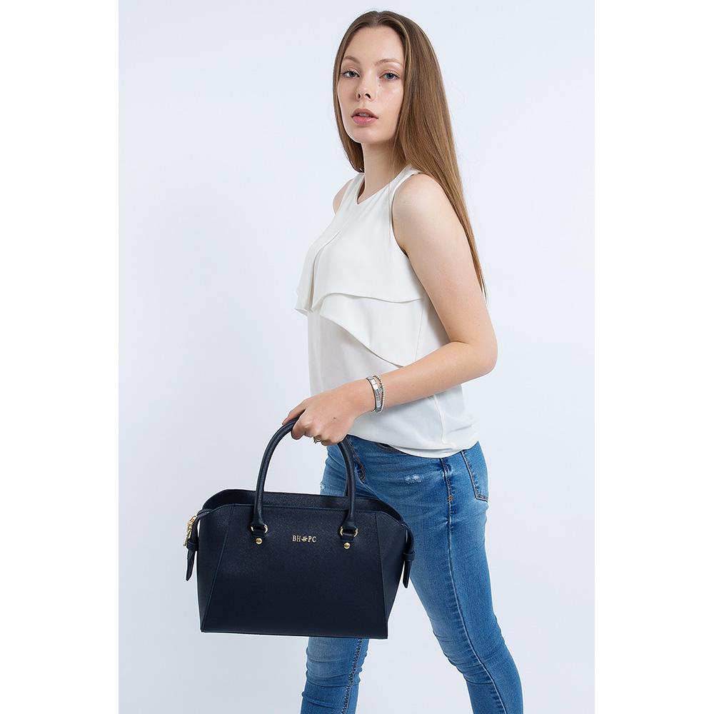 Bolso mujer - azul oscuro