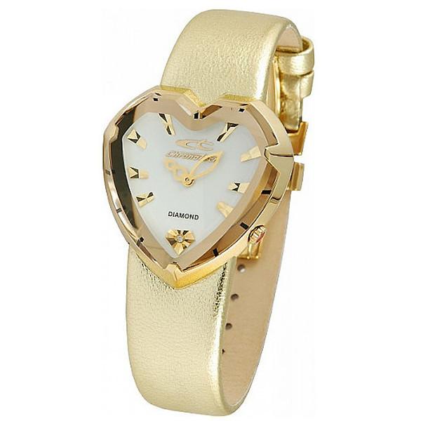 Reloj analógico piel mujer - dorado