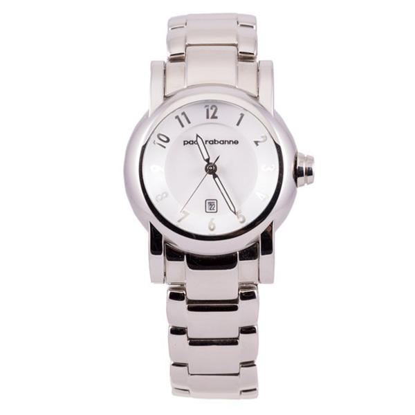 Reloj mujer analógico acero - plateado/blanco