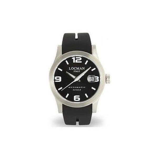 Reloj hombre analógico caucho - negro