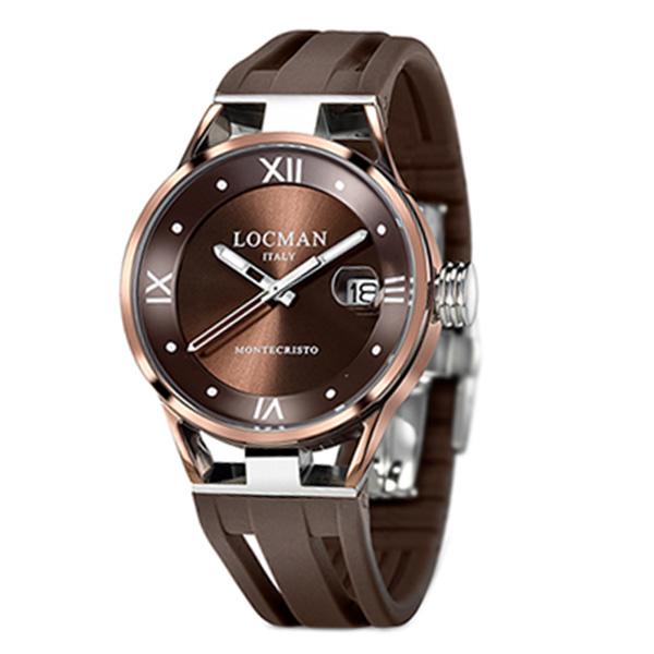 Reloj mujer analógico caucho - marrón
