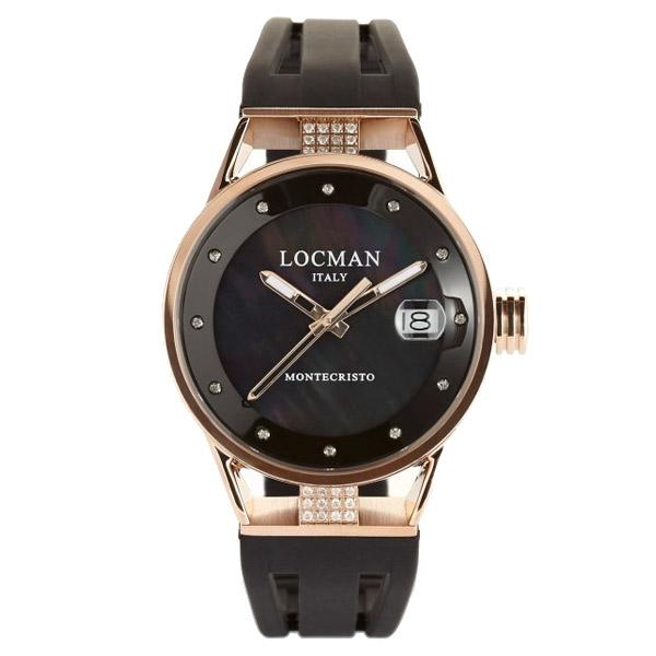 Reloj analógico mujer caucho - negro