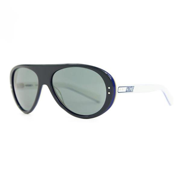 Gafas de sol unisex cal.57 acetato - gris/blanco