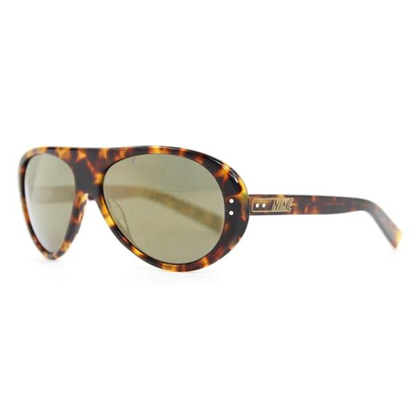 Gafas de sol unisex calibre 57 acetato - marrón