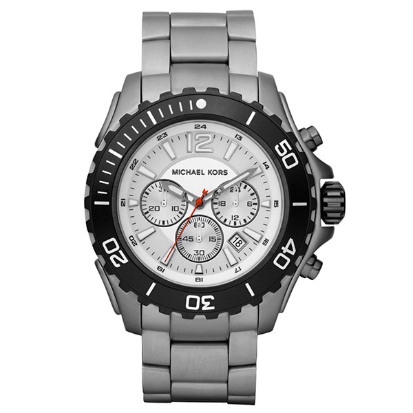 Reloj analógico/cronógrafo titanio hombre - gris