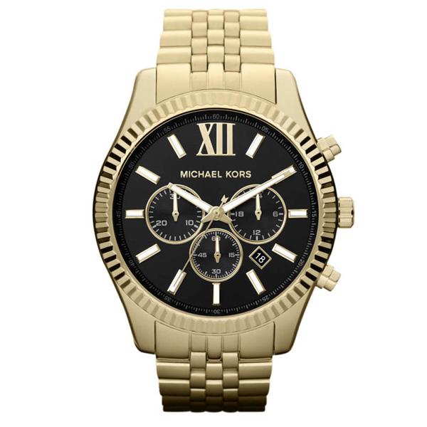 Reloj analógico/cronógrafo acero hombre - dorado