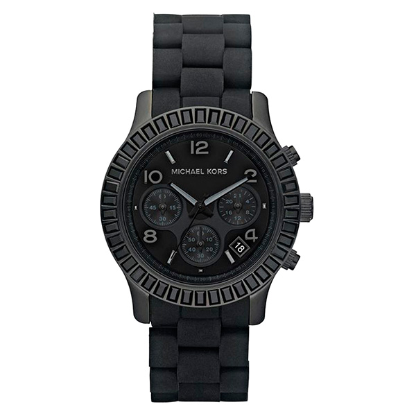 Reloj analógico hombre acero - negro