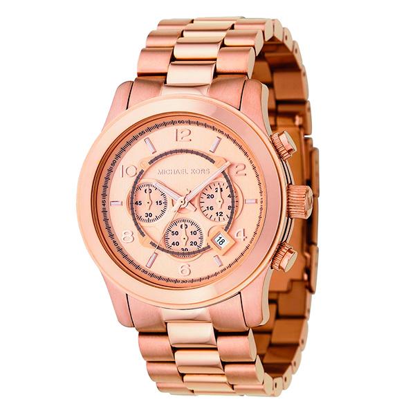 cdda266d906e Reloj analógico hombre acero - bronce MICHAEL KORS MK8096