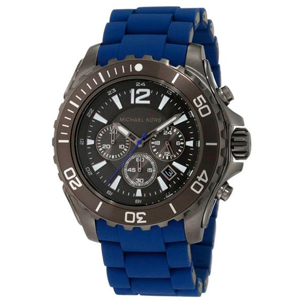 Reloj analógico hombre - negro/azul