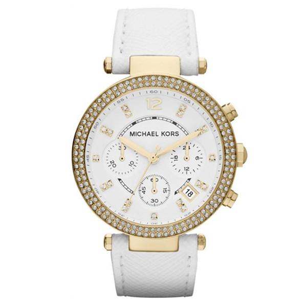 d79c43c99655 Reloj mujer analógico piel acero - blanco dorado MICHAEL KORS MK2290