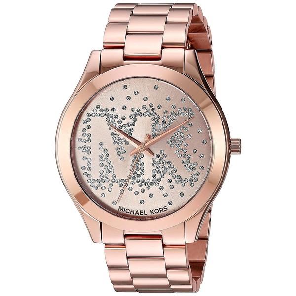 a4590328cb Reloj mujer analógico acero - oro rosa MICHAEL KORS MK3591