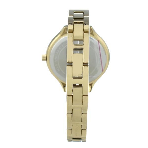 Reloj analógico mujer acero - dorado