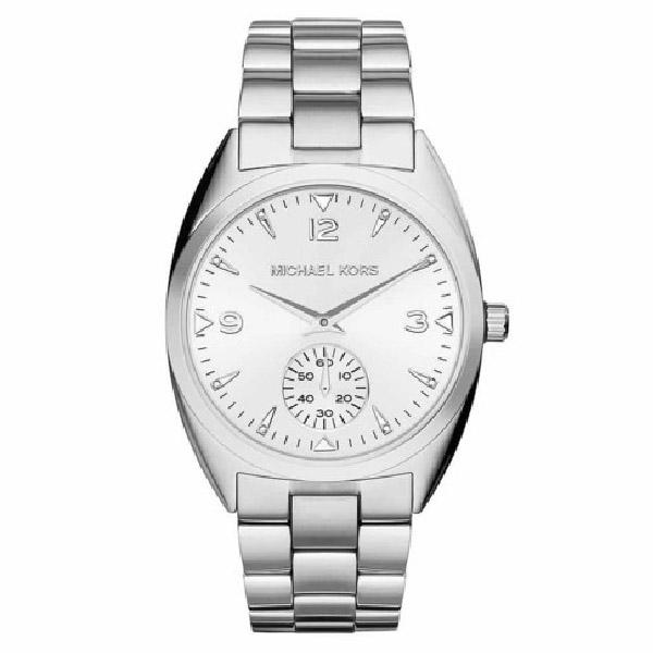 Reloj analógico mujer acero - plateado