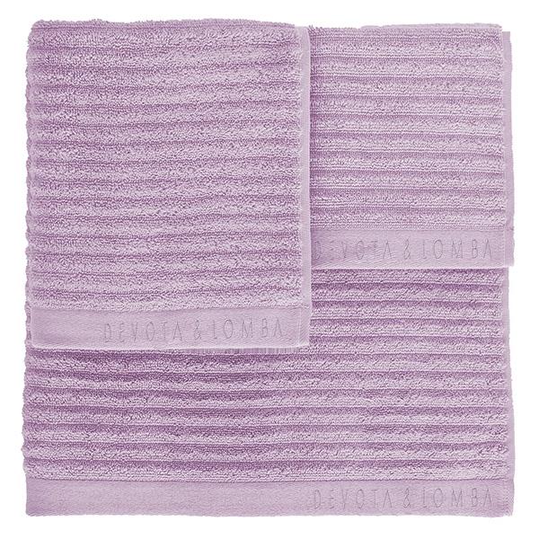 Juego 3 toallas 500 grs m2 - lila