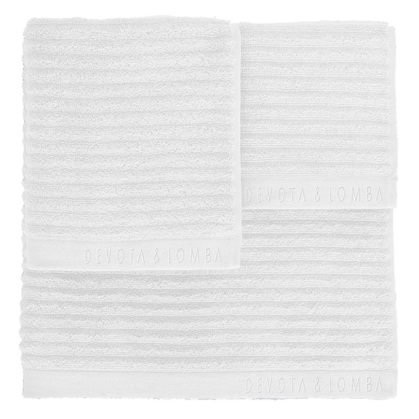 Juego 3 toallas 500 grs m2 - blanco