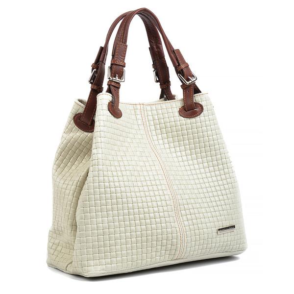 30x36x17cm Bolso Shopper  - beige
