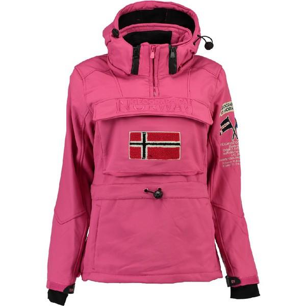 Chaqueta Softshell Tilsitt - rosa flúor