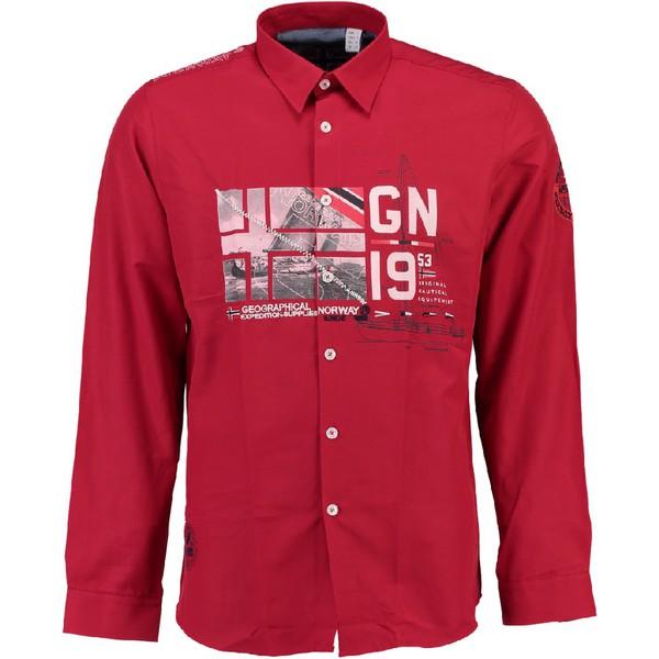 Camisa hombre - rojo