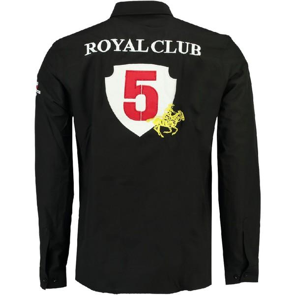 Camisa Zeratine hombre - negro