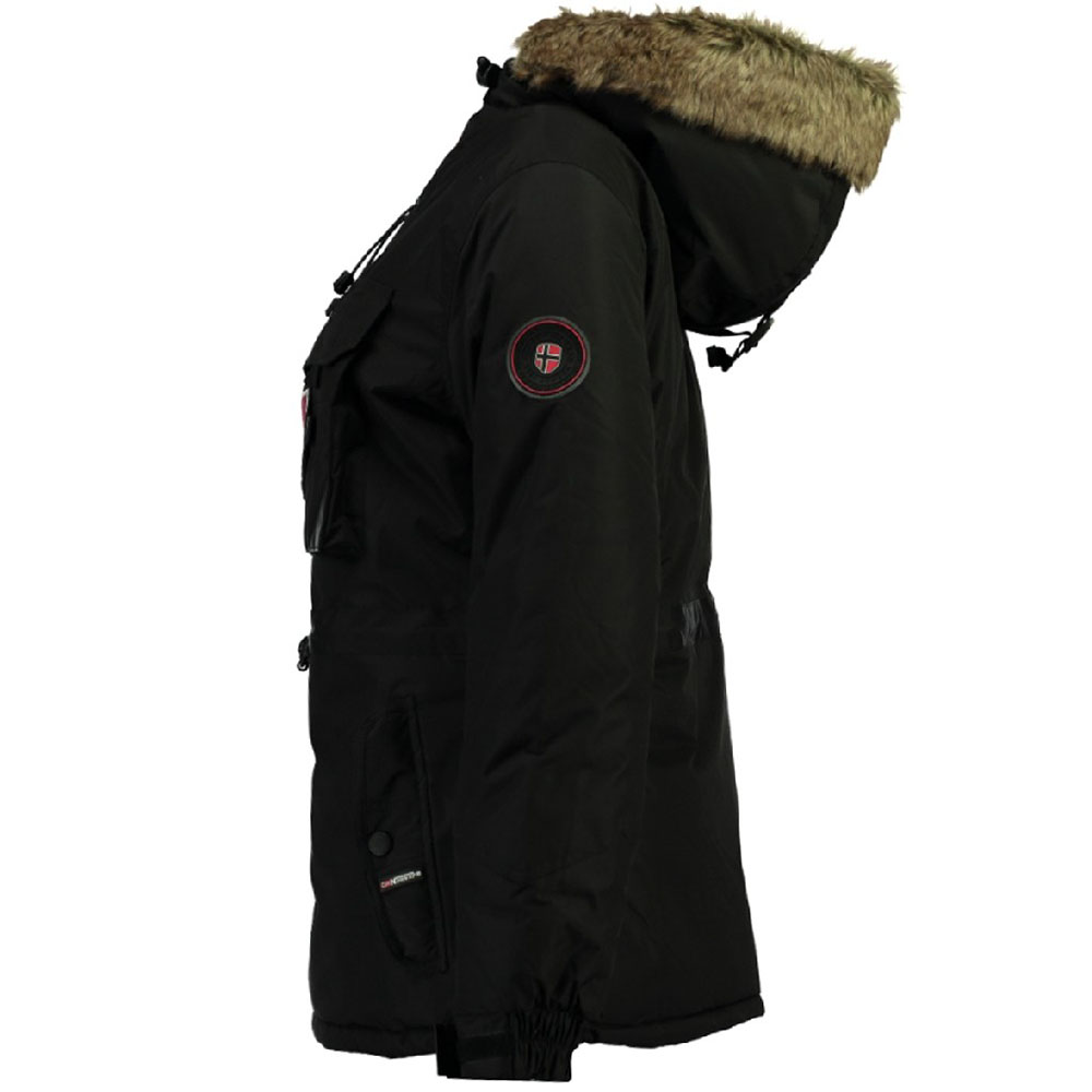 Parka Bougie mujer - negro