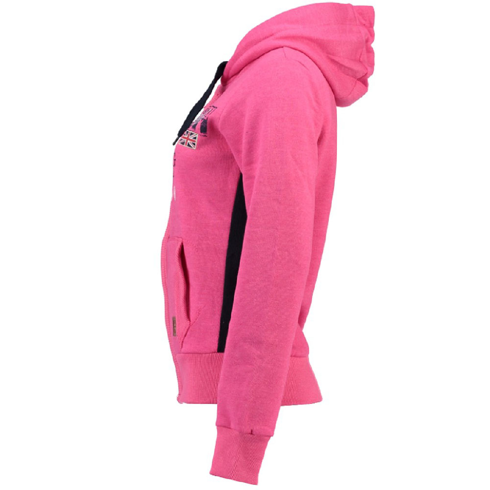 Sudadera Gladys mujer - rosa flúor