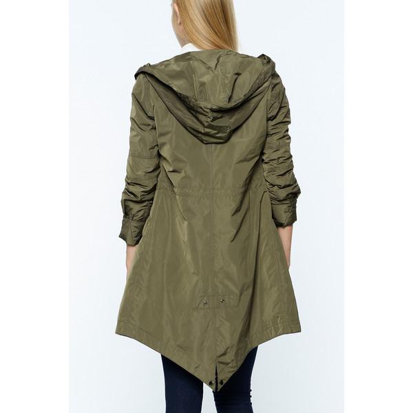 Abrigo mujer - caqui