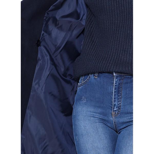 Abrigo mujer - azul oscuro