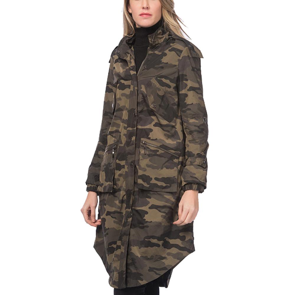 Abrigo mujer - camuflaje