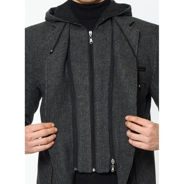 Abrigo hombre - antracita