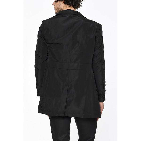Abrigo impermeable hombre - negro