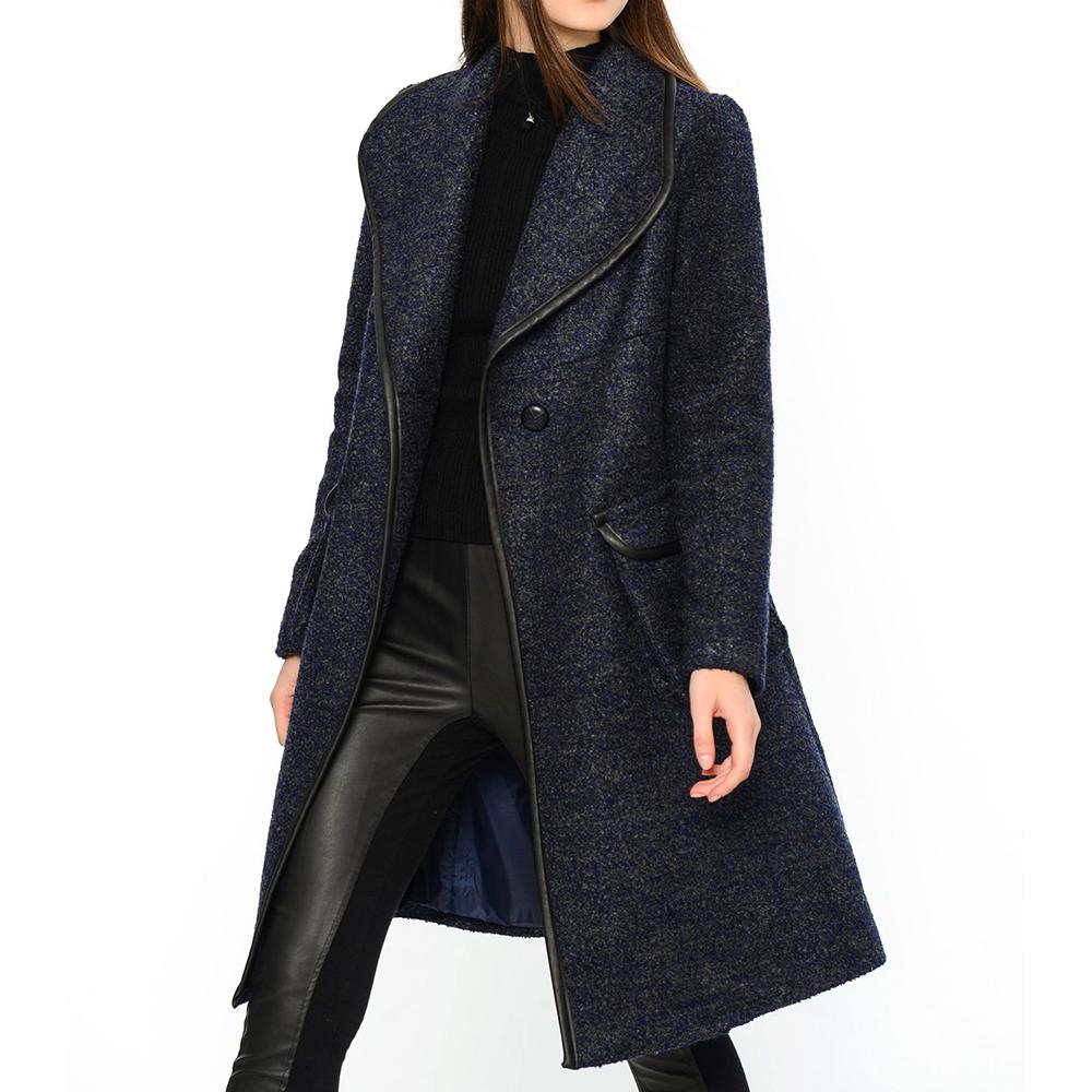 Abrigo - azul oscuro
