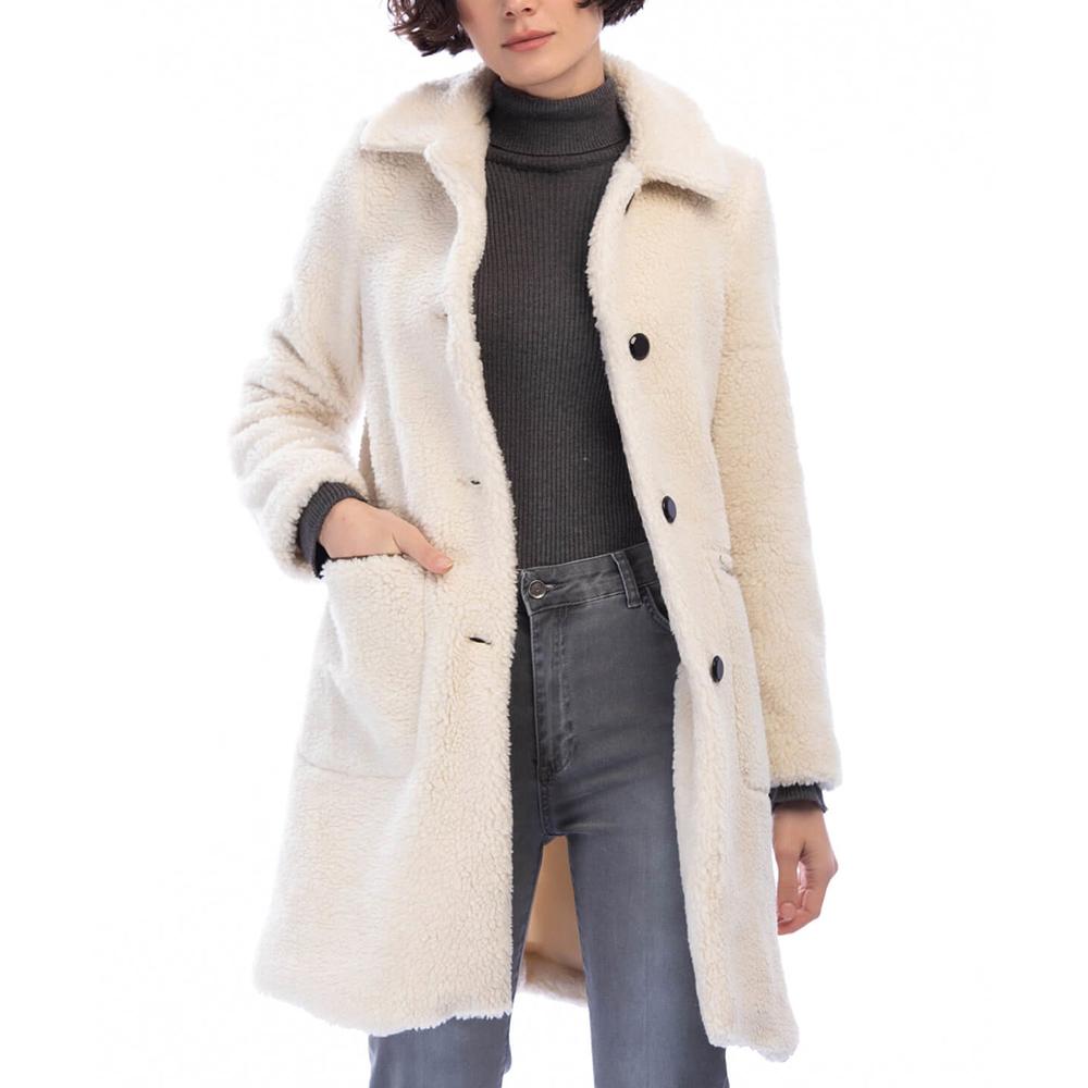 Abrigo mujer - beige