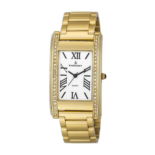 Reloj acero mujer - dorado