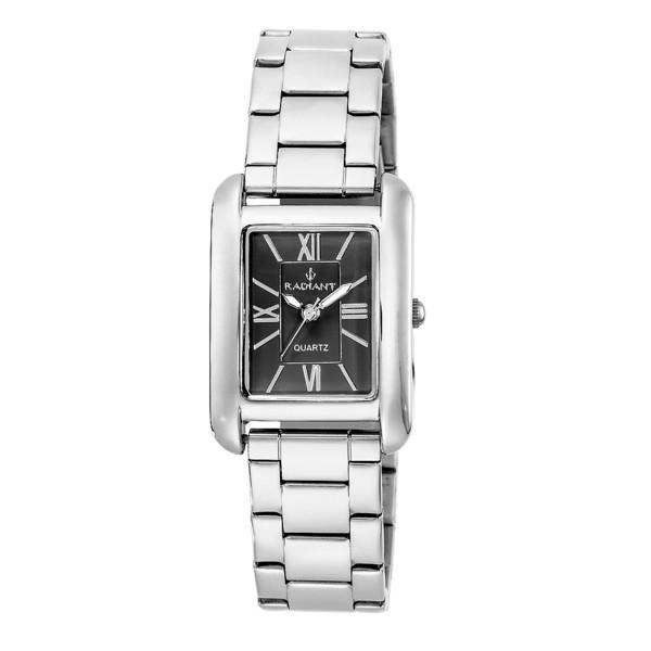Reloj acero mujer - plateado