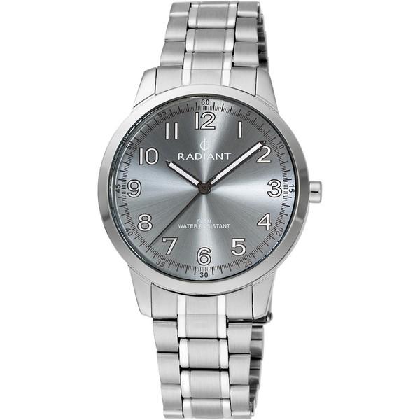 Reloj analógico acero hombre - gris