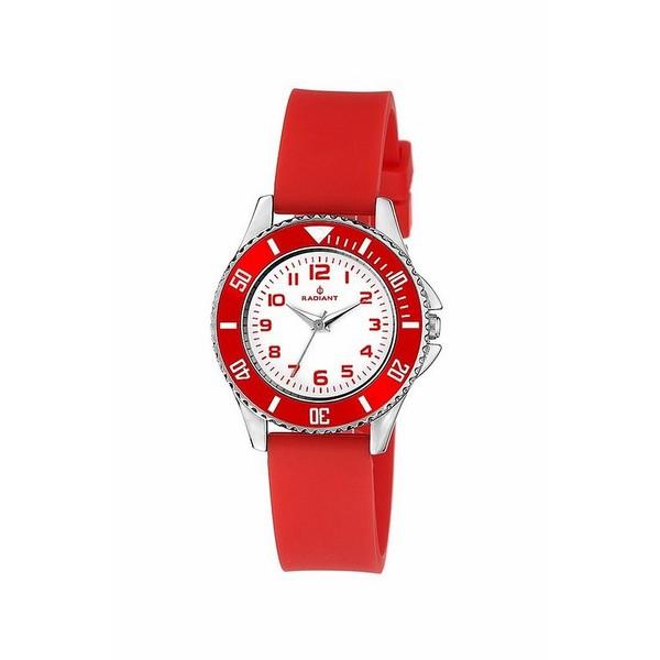 Reloj infantil analógico caucho - rojo