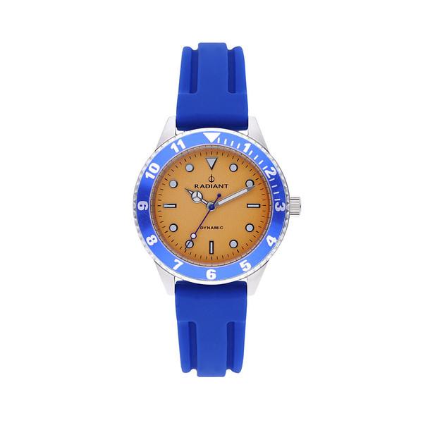 Reloj infantil analógico caucho - azul