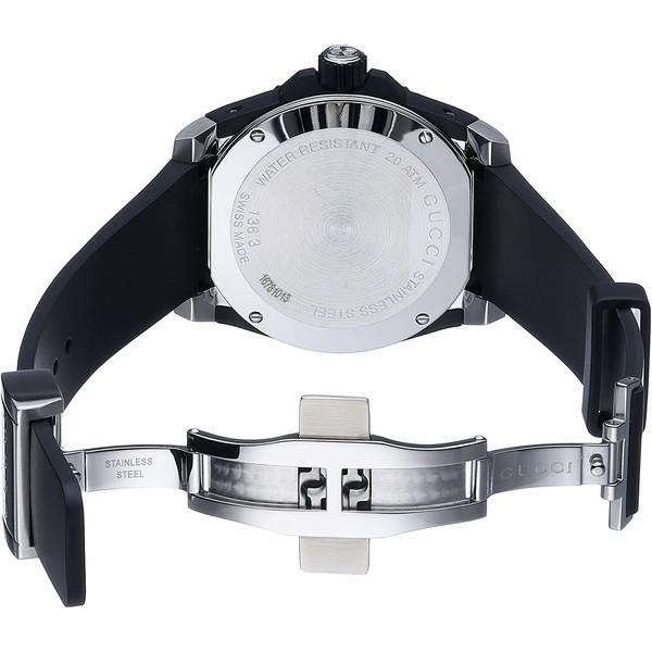 Reloj analógico goma mujer - negro