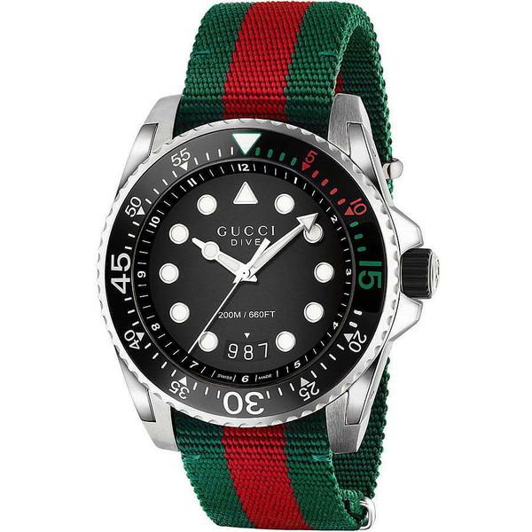 Reloj analógico nylon hombre - multicolor