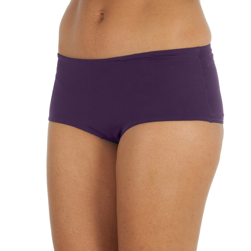 Culotte microfibra - violeta oscuro