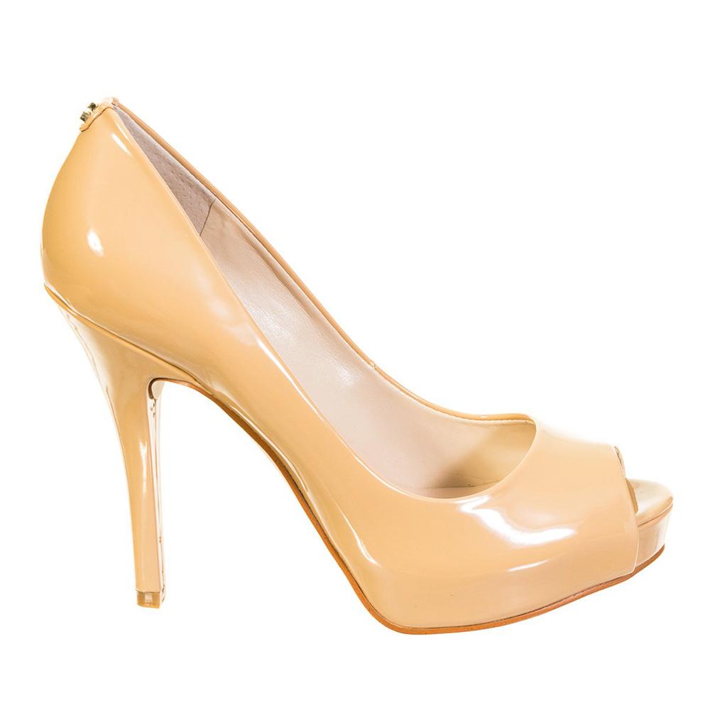 11,5cm Zapato tacón mujer - beige