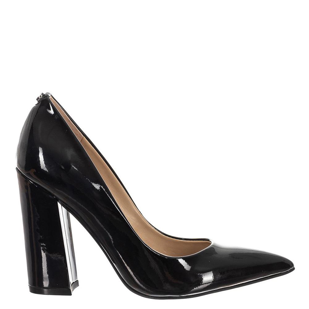 Guess Flrid3pat08 Negro Rxwd5q8ar Zapatos De Black Tacón awUxnx