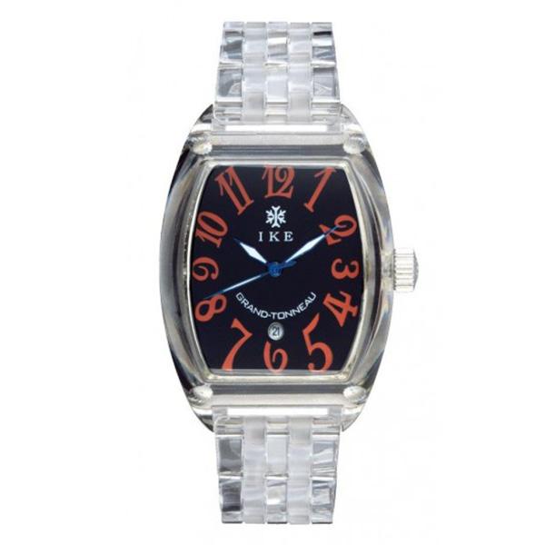 Reloj analógico policarbonato unisex - transparente