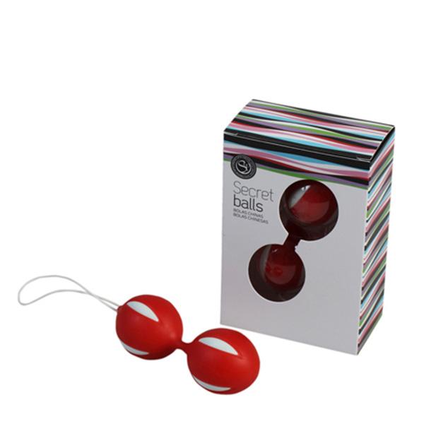 3.5cm Bolas chinas secret balls - rojo