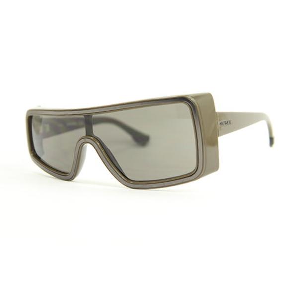 Gafas de sol unisex cal.65 acetato - marrón
